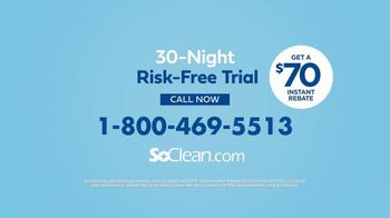 SoClean TV Spot, 'Daily Cleaning: $70 Rebate' Featuring William Shatner - Thumbnail 8