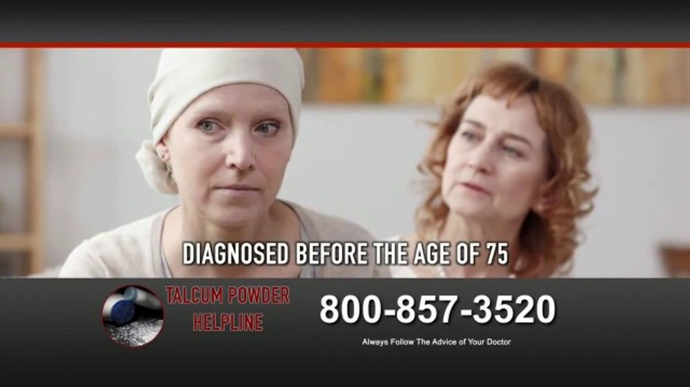 Fears Nachawati Tv Commercial Talcum Powder Helpline Ovarian Cancer Ispot Tv