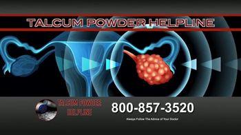 Fears Nachawati TV Spot, 'Talcum Powder Helpline: Ovarian Cancer' - Thumbnail 1