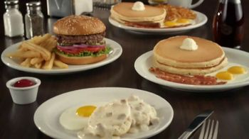 Denny's Limited Edition $2 $4 $6 $8 Value Menu TV Spot, 'Low Prices and Free Delivery' - Thumbnail 1