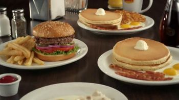 Denny's Limited Edition $2 $4 $6 $8 Value Menu TV Spot, 'Low Prices and Free Delivery' - Thumbnail 2