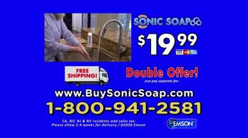 Bell + Howell Sonic Soap TV Spot, 'Hands-Free Design' - Thumbnail 10