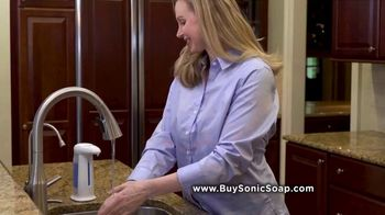 Bell + Howell Sonic Soap TV Spot, 'Hands-Free Design'