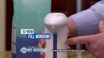 Bell + Howell Sonic Soap TV Spot, 'Hands-Free Design' - Thumbnail 5