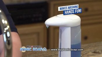 Bell + Howell Sonic Soap TV Spot, 'Hands-Free Design' - Thumbnail 8