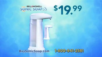 Bell + Howell Sonic Soap TV Spot, 'Hands-Free Design' - Thumbnail 9