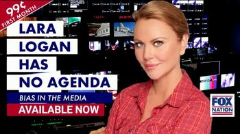 FOX Nation TV Spot, 'Lara Logan Has No Agenda: America's Veterans: 25 Percent Off' Ft Laura Ingraham