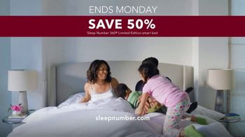 Sleep Number Lowest Prices of the Season TV Spot, 'Weekend Special: Save 50 Percent' - Thumbnail 10