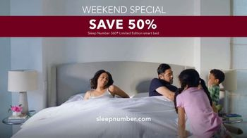 Sleep Number Lowest Prices of the Season TV Spot, 'Weekend Special: Save 50%' - Thumbnail 9