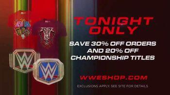 WWE Shop TV Spot, 'Energizar: 30 Porcentaje de pedidos y 20 por ciento de títulos de campeonato' [Spanish] - Thumbnail 8