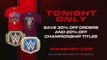 WWE Shop TV Spot, 'Energizar: 30 Porcentaje de pedidos y 20 por ciento de títulos de campeonato' [Spanish] - Thumbnail 9