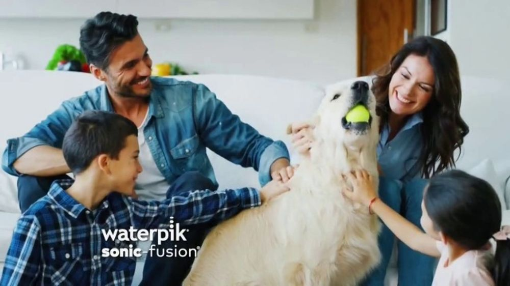 Waterpik Sonic-Fusion TV Commercial, 'Keeping Your Smile Healthy'
