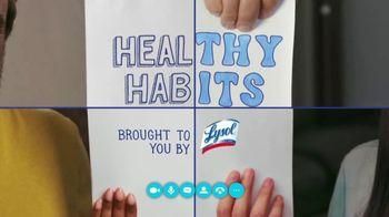 Lysol TV Spot, 'Healthy Habits'