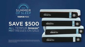 Tempur-Pedic Summer of Sleep TV Spot, 'Sleep Cool: Save $500' - Thumbnail 9
