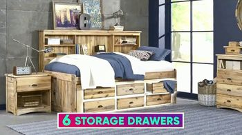Rooms to Go Kids July 4th Hot Buys TV Spot, 'Twin Bookcase Wall Bed' - Thumbnail 5