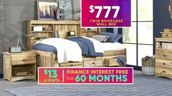 Rooms to Go Kids July 4th Hot Buys TV Spot, 'Twin Bookcase Wall Bed' - Thumbnail 6