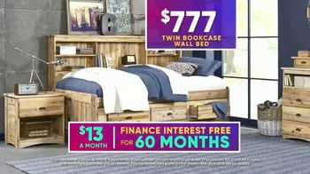Rooms to Go Kids July 4th Hot Buys TV Spot, 'Twin Bookcase Wall Bed' - Thumbnail 7