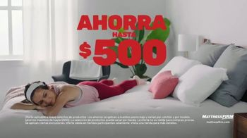 Mattress Firm TV Spot, 'King a precio queen: ahora hasta $500' [Spanish] - Thumbnail 1