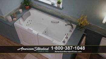 American Standard Walk-In Tubs TV Spot, 'Stay Safe'