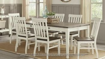 Rooms to Go July 4th Hot Buys TV Spot, 'Two Stylish Dining Sets: $688' - Thumbnail 4