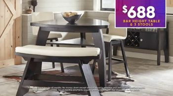 Rooms to Go July 4th Hot Buys TV Spot, 'Two Stylish Dining Sets: $688' - Thumbnail 7