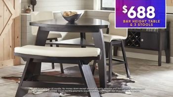 Rooms to Go July 4th Hot Buys TV Spot, 'Two Stylish Dining Sets: $688' - Thumbnail 8