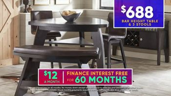 Rooms to Go July 4th Hot Buys TV Spot, 'Two Stylish Dining Sets: $688' - Thumbnail 9