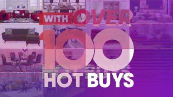 Rooms to Go July 4th Hot Buys TV Spot, 'Two Piece Living Room Set: $999' - Thumbnail 3