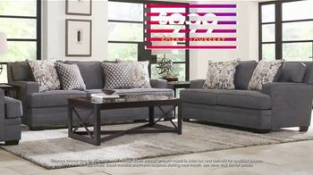 Rooms to Go July 4th Hot Buys TV Spot, 'Two Piece Living Room Set: $999' - Thumbnail 6