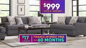 Rooms to Go July 4th Hot Buys TV Spot, 'Two Piece Living Room Set: $999' - Thumbnail 8