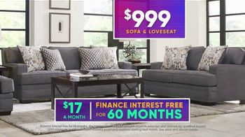 Rooms to Go July 4th Hot Buys TV Spot, 'Two Piece Living Room Set: $999' - Thumbnail 9