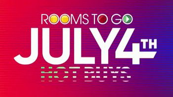 Rooms to Go July 4th Hot Buys TV Spot, 'Classic Five Piece Bedroom Set: $999' - Thumbnail 9
