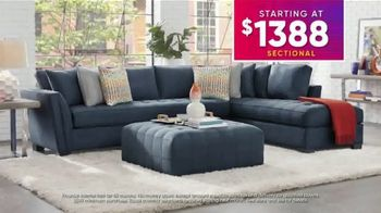 Rooms to Go July 4th Hot Buys TV Spot, 'Stylish Sectional: $1,388' - Thumbnail 5