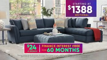 Rooms to Go July 4th Hot Buys TV Spot, 'Stylish Sectional: $1,388' - Thumbnail 6