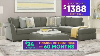 Rooms to Go July 4th Hot Buys TV Spot, 'Stylish Sectional: $1,388' - Thumbnail 8