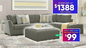 Rooms to Go July 4th Hot Buys TV Spot, 'Stylish Sectional: $1,388' - Thumbnail 9