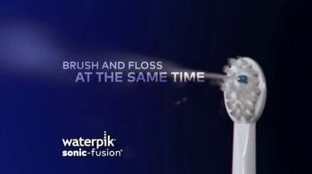 Waterpik Sonic Fusion TV Spot, 'World's First Flossing Toothbrush' - Thumbnail 4