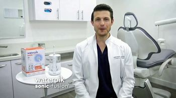 Waterpik Sonic Fusion TV Spot, 'World's First Flossing Toothbrush' - Thumbnail 7