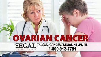 Segal Law TV Spot, 'Baby Powder: Ovarian Cancer' - Thumbnail 2