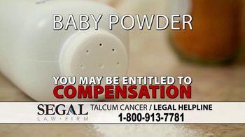 Segal Law TV Spot, 'Baby Powder: Ovarian Cancer' - Thumbnail 3