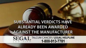 Segal Law TV Spot, 'Baby Powder: Ovarian Cancer' - Thumbnail 8