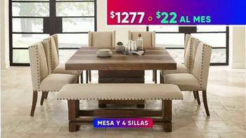 Rooms to Go 4 de Julio Súper Ofertas TV Spot, 'Financiamiento sin interés' [Spanish] - Thumbnail 5