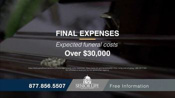 Senior Life Insurance Company TV Spot, 'High Funeral Costs' - Thumbnail 2