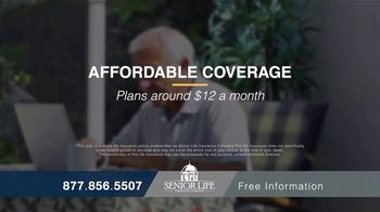 Senior Life Insurance Company TV Spot, 'High Funeral Costs' - Thumbnail 5