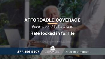 Senior Life Insurance Company TV Spot, 'High Funeral Costs' - Thumbnail 6