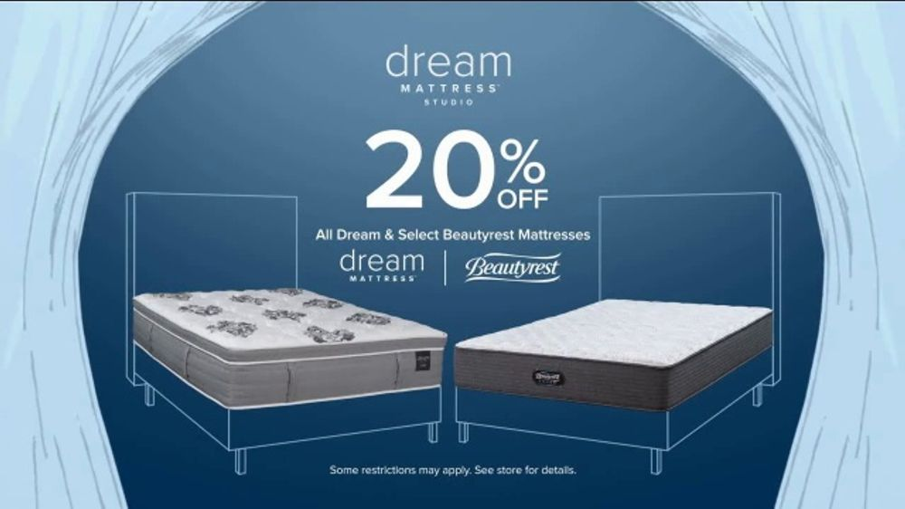 American Signature Furniture Fourth of July Sale TV Commercial, 'Dream Mattress Studio: 20 Percent O