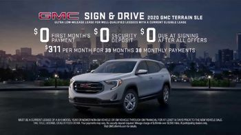 GMC Sign & Drive TV Spot, 'Rule of Three' [T2] - Thumbnail 5