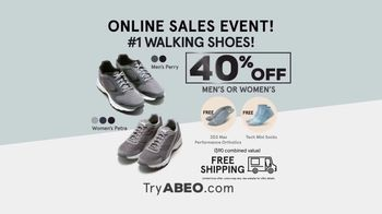 ABEO Footwear Online Sales Event TV Spot, 'Improve or Maintain Your Overall Health' - Thumbnail 10