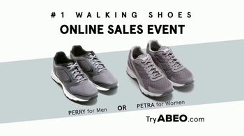 ABEO Footwear Online Sales Event TV Spot, 'Improve or Maintain Your Overall Health' - Thumbnail 7