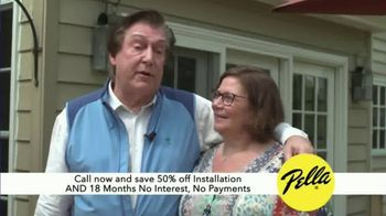 Pella TV Spot, 'Customers: Major Investment'